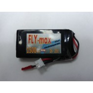 FLY-max lipo battery 2s 7.4v 1500mah 25c