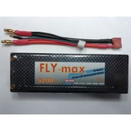 FLY-max lipo battery 2s 5200mah 35c (Hard Case)