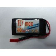 FLY-max lipo battery 2s 7.4v 900mah 20c