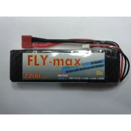 FLY-max lipo battery 2s 7.4v 2200mah 30c