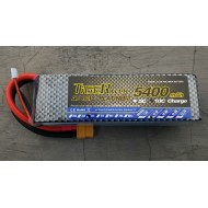 Tiger 11.1V 5400mAh 3S 25C Lipo Battery - A Grade