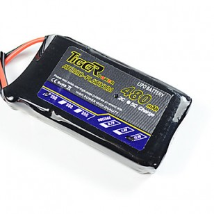 Tiger 11.1V 480mAh 3S 25C Lipo Battery