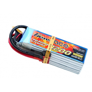Gens Ace 6S1P 1200mAh 22.2V 40C Lipo Battery Pack