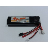 TY-max lipo battery TX pack 3s 2200mah 8c ( for futaba 10c / Turnigy 9ch / KDS K-7XIII )