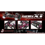 3RACING Sakura XI Sport 1/10 Touring Car KIT