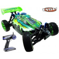 HSP 4wd 1/8 Scale Models Nitro Gas Power Off Road Buggy Bazooka High Speed Rc Car