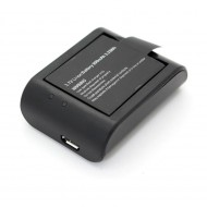 SJCAM Desktop Charger & 3.7V 900mAh Li-ion Battery Combo