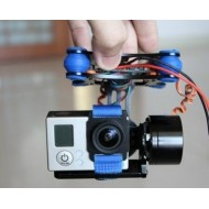 Full Metal 2-Axis Brushless Gimbal Assembly for Gopro 2/ Gopro 3 -Ready to use