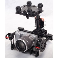 FPV 2-axis Brushless Gimbal Assembly for Mini SLR 5N, GH2, GH3 W/ Motors