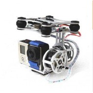 Ultra Light-2D Brushless Gimbal w/Motor&Controller