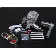 JC30 EVO Gas engine w/CD-Ignition 30cc/4hp @ 9,000rpm