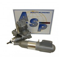 ASP S52A Two Stroke Glow Engine