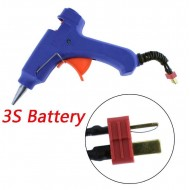 3s lipo T-plug Hot Glue Gun