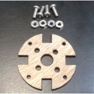 5MM plywood motor mounting (Max 28mm size motor) - with screw