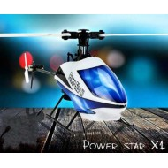 WL Toys V977 Power Star X1 6ch 6 axis 3D Burshless Helicopter