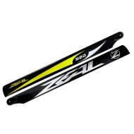 Zeal - Carbon Fiber Main Blades 520mm (B) - Yellow