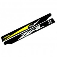 Zeal - Carbon Fiber Main Blades 600mm (B) - Yellow