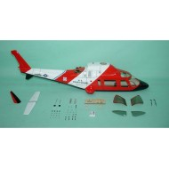 Agusta (Retractable Version) 30 size (COAST GUARD) - T-rex550