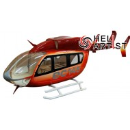 HeliArtist EC-145 Scale Body (With Upgrade Gear) (RED 600 Size)