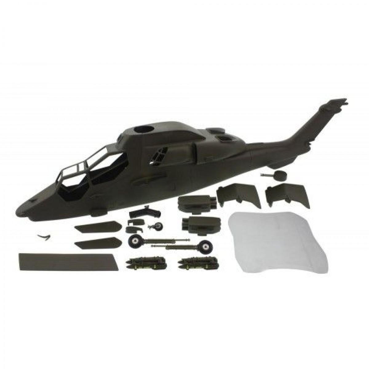 EC665 tiger 600 / 700 size Scale Fuselage