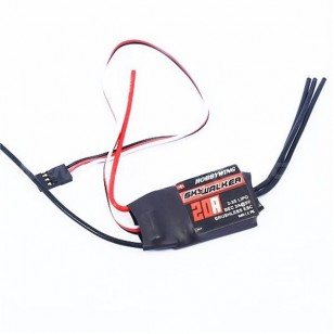 HobbyWing SKYWALKER 20A RC Brushless Speed Controller ESC (2S-3S