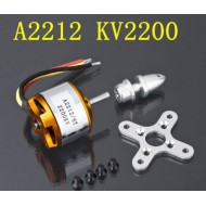 A2212 RC Brushless Outrunner Motor - 2200kv