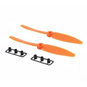 6030 Multirotor Propellers One Pair CW CCW (Orange)