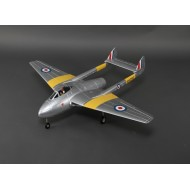 Durafly® ™ D.H.100 Vampire Mk6 EDF Jet 1100mm (kit only)