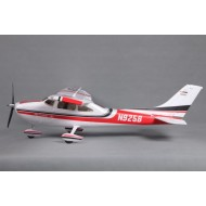 FMS 1400MM Sky Trainer 182 (5CH With Flap) AT Red PNP