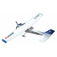 FMS 1400MM Sky Trainer 182 (5CH With Flap) AT Blue PNP