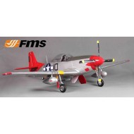 FMS 1450MM P-51D (V8) Red Tail PNP