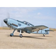 BLACK HORSE MESSERSCHMITT 55CC GIANT SCALE W/ AIR RETRACT ARF 2200MM
