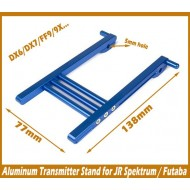 Metal Transmitter Stand  - Extra Long (Black or Blue)