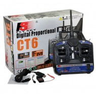 2.4G CT6B 6-Channel Transmitter+Receiver
